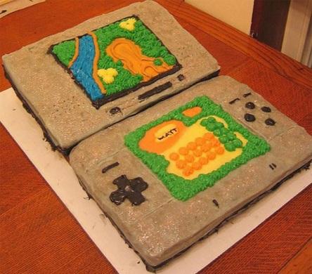 pasteles de videojuegos