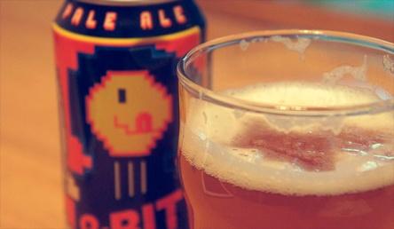 La cerveza de 8 bits